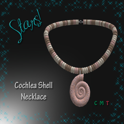 Cochlea Shell Necklace
