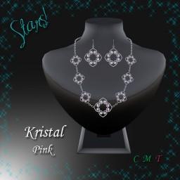 Kristal Set (pink)