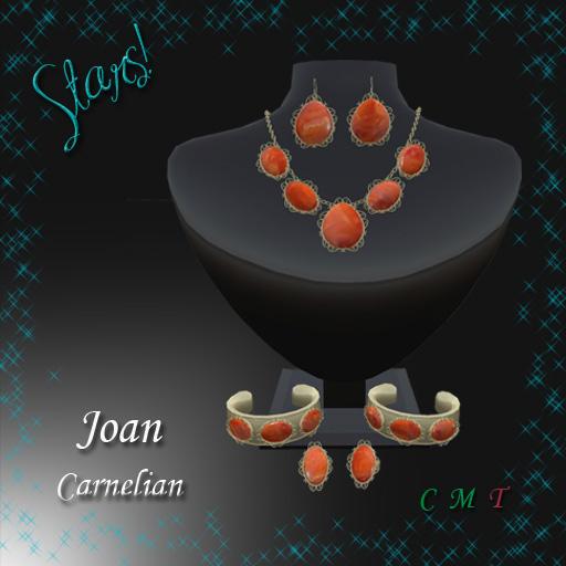 Joan Complete Set (Carnelian)