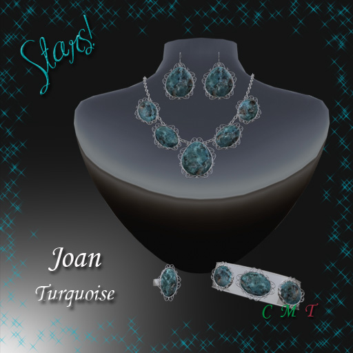 Joan Complete Set (Turquoise)