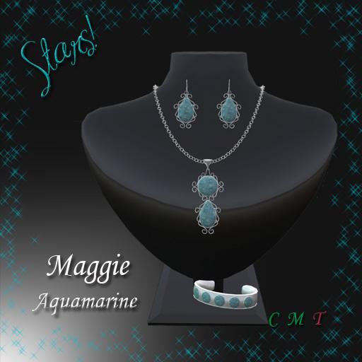 Maggie Complete Set (Aquamarine)