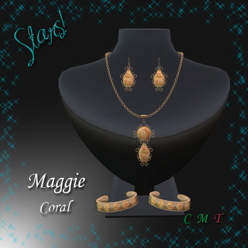 Maggie Complete Set (Coral)