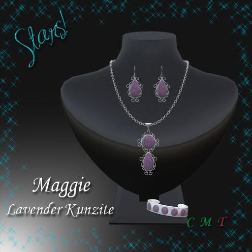Maggie Complete Set (Lavender Kunzite)