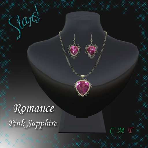 Romance Set (pink sapphire)