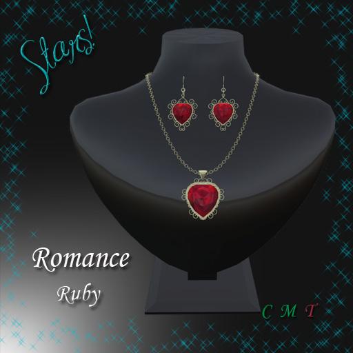 Romance Set (ruby)