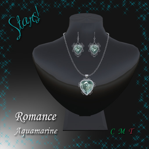 Romance Set (aquamarine)