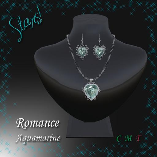 Romance Set (aquamarine)