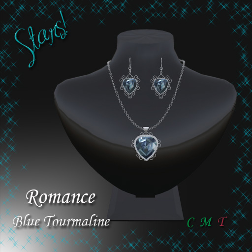 Romance Set (blue tourmaline)