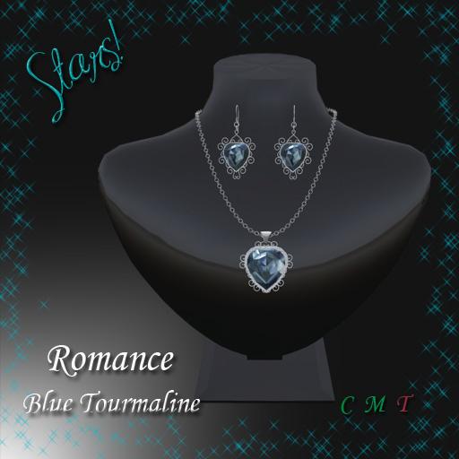 Romance Set (blue tourmaline)