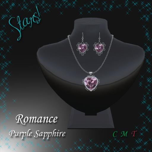 Romance Set (purple sapphire)