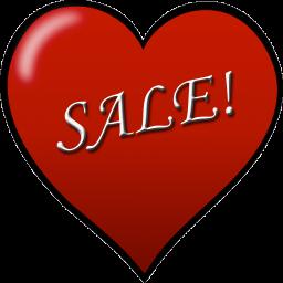 SALE Heart